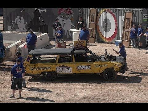 VEGAS DEMOLITION DERBY! HEAT 1 FRI! 2019