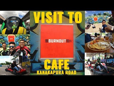 Laymen Review And Visit To Burnout Cafe | MUST VISIT | Go Karting | Adrenaline PUMP | Food Review |