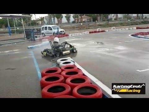 Karting Ceuti Drift, Donuts 360, Slowmotion (J. Gómez)