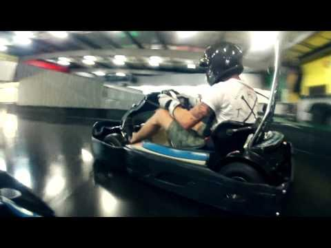 Slideways - Go Karting Gold Coast Ryan Tuerck Drift Night