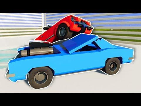 DEMO DERBY IN CUSTOM ARENA! - Brick Rigs Multiplayer Gameplay - Lego Racing