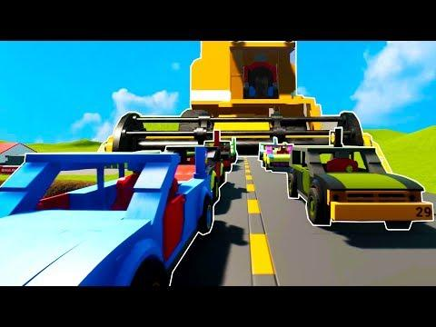 LARGEST, MOST INSANE LEGO DEMOLITION DERBY EVER MADE - Brick Rigs Lego Multiplayer