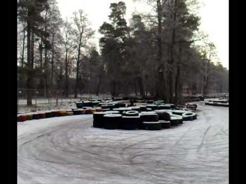 Karting Drift In Klaipeda =)